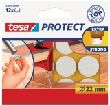 Protectii antizgarieturi 22 mm alb Tesa