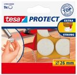 Protectii antizgarieturi 26 mm alb Tesa