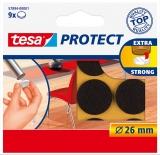 Protectii antizgarieturi 26 mm maro Tesa