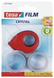 Dispenser + 2 bucati banda adeziva transparenta 10m x 19mm Tesa