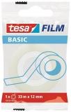 Banda adeziva transparenta Basic 33m x 12 mm Tesa