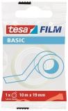 Banda adeziva transparenta Basic 10m x 19 mm Tesa