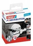 Carlig Powerbutton Deluxe rotund crom 8 kg Tesa