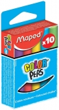 Creta color, 10 culori/cutie Maped