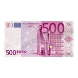 Servetele 40 x 33 cm 500 Euro 20 buc/Set Big Party