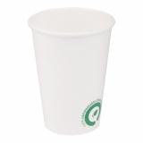 Pahare dozatoare de apa, biodegradabile, albe, 220 ml 50 buc/set Biodeck