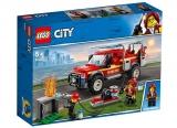 Camionul de interventie al comandantului pompierilor 60231 LEGO City