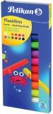 Plastilina 12 culori fluorescente Pelikan