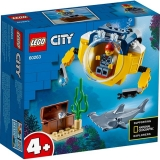 Minisubmarin oceanic 60263 LEGO City