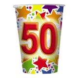Pahare 200 ml Stardust 50, 10 buc/Set Big Party