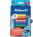 Plastilina Creaplast pentru set Kreativ, 10 culori/set, Pelikan