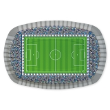 Platou Rectangular 20 x 30 cm Stadion de Fotbal 5 buc/Set Big Party
