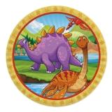 Farfurii 24 cm Jurassic 8 buc/Set Big Party