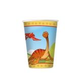 Pahare 200 ml Jurassic 8 buc/Set Big Party