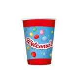 Pahare 200 ml Welcome 8 buc/Set Big Party