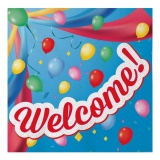 Servetele 33 x 33 cm Welcome 20 buc/Set Big Party