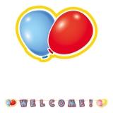 Kit Ghirlanda Scris Mare Welcome 600 x 25 cm Big Party