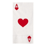 Servetele 40 x 33 cm Poker 16 buc/Set Big Party