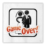 Servetele 33 x 33 cm Game Over 16 buc/Set Big Party