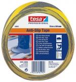 Banda adeziva anti-alunecare 50 mm x 15 m Tesa negru/galben