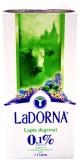Lapte UHT 0.1% grasime 1 l LaDorna