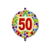 Balon Mylar Rotund 45 cm Stardust 50 Big Party