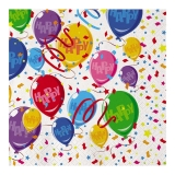 Servetele 33 x 33 cm Baloane Happy 20 bucati/set Big Party