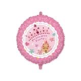 Balon Mylar Rotund 45 cm Princess (18