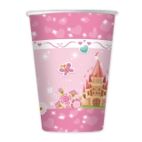 Pahare 200 ml Princess 8 buc/set Big Party