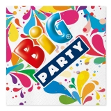 Servetele 33 x 33 cm Big Party 20 bucati/set Big Party