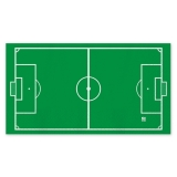 Servetele 40 x 33 cm Stadion de Fotbal 16 buc/Set Big Party