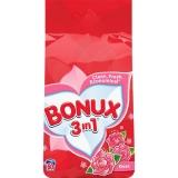 Detergent automat 3 in 1 Rose, 6 kg, 60 spalari Bonux