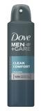Deodorant antiperspirant spray 150 ml Clean Comfort pentru barbati Dove
