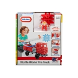 Blocuri De Constructie - Masina De Pompieri Little Tikes