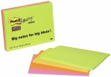 Notite adezive pentru conferinte Super Sticky Post-It® 149 x 98.4 mm 3M
