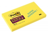 Notite adezive galbene Super Sticky Post-It® 127 mm x 76 mm 90 file/set 3M