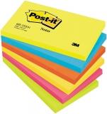 Notite adezive neon Dynamic Post-It® 127 mm x 76 mm 3M