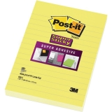 Notite adezive Post-it® super sticky™ 152 mm x 102 mm 3M