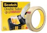 Banda dublu adeziva 19 mm x 32.9 m Scotch 3M