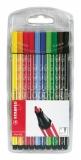 Marker Pen 68 10 culori Stabilo