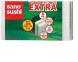 Burete Magic Extra, 7 x 11.5 x 3 cm, 6 buc/set, Sano Sushi