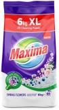 Detergent rufe Maxima Spring Flowers, 60 spalari, 6 kg Sano