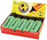 Cutie textmarker 10 bucati verde Boss Stabilo