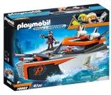 Echipa De Spioni Cu Barca Turbo Playmobil