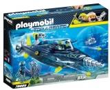 Echipa S.H.A.R.K. Cu Submarin Playmobil