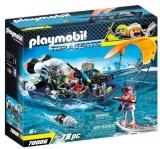 Echipa S.H.A.R.K. Cu Barca Playmobil