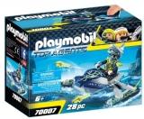 Skijetul Echipei S.H.A.R.K. Playmobil