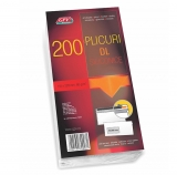 Plic DL siliconic offset 110 x 220 mm, 80 g/mp 200 buc/set GPV