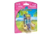 Figurina - Fermiera Playmobil