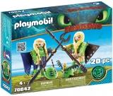 Raffnut Si Taffnut In Costume De Zbor Playmobil